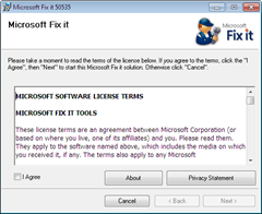 Fix It Tool for MSE