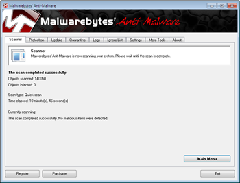 Malwarebytes  Anti-Malware 1.50 Beta