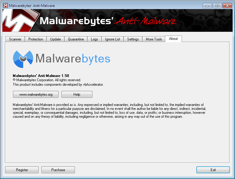 Malwarebytes 039 anti malware 1.50