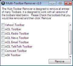 Multi Toolbar Remover