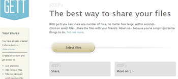ge.tt real-time file sharing service