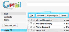 marker theme for Gmail
