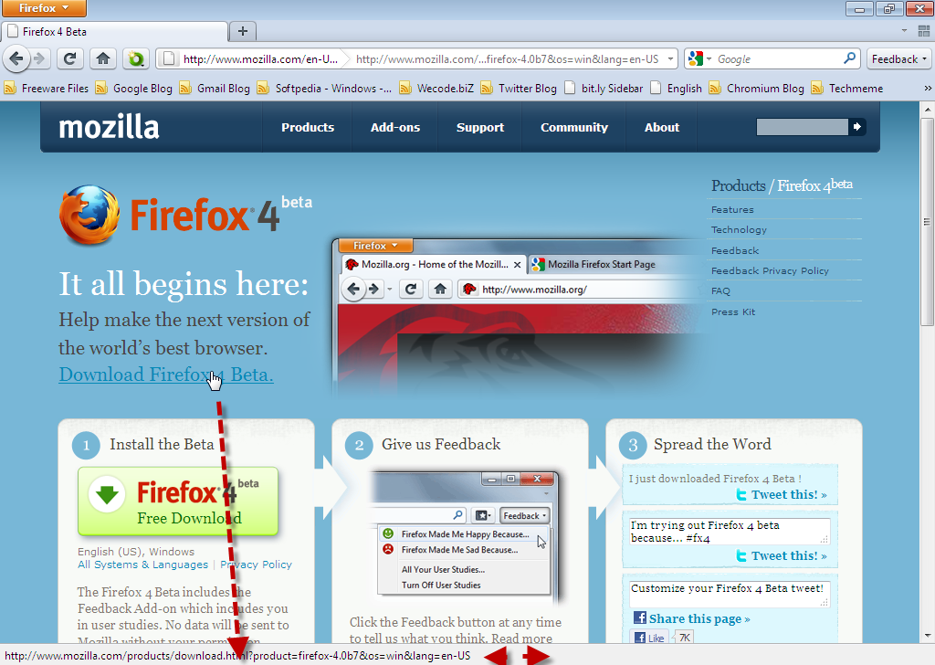 how to get your firefox toolbar back