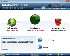 Ad-Aware Free Internet Security 9.0