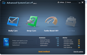 Advanced SystemCare 4 Beta