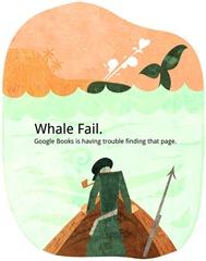 Google Books Whale Fail