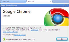 Google Chrome 8