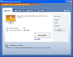 Microsoft Security Essentials 2.0 final version released