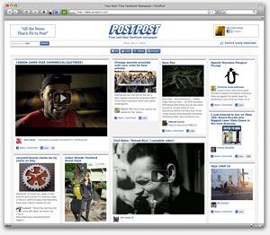 PostPost makes facebook as  a newspaper