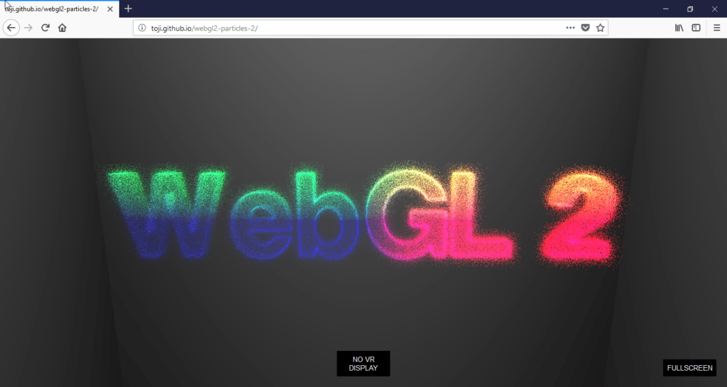 How to disable WebGL in Firefox