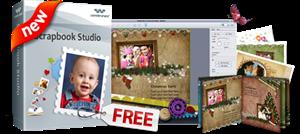Wondershare Scrapbook studio is a free scrapbook software