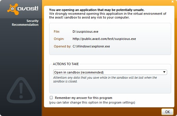 Su Avast Internet Security es ilegal y sera desactivado