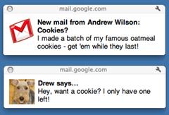 Gmail's desktop notifications