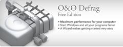 O&O Defrag free edition