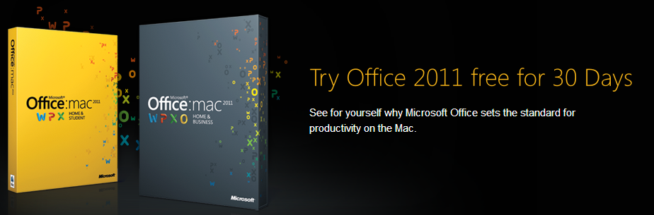 Download 30 day trial version of microsoft office 2011 for mac for free - Free office for mac download ...
