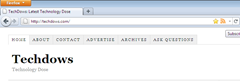 RSS Icon in the address bar for Firefox 4
