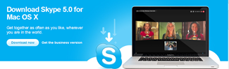 Skype 5 for Mac