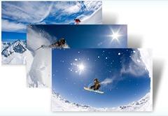 Snow Sports Windows 7 themepack