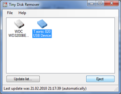Tiny Disk Remover