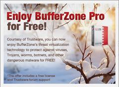 BufferZone Pro for free