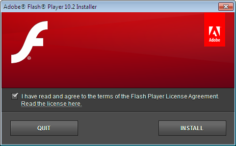 adobe flash player 10.2.0