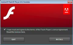 Flash Player 10.2 offline installer