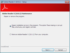 Uninstall Adobe Reader X 10 thumb How to Uninstall Adobe Reader X (10)  from Your Computer