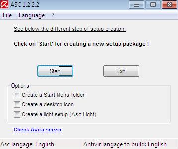 Avira Setup Creator, Create Customized Installer for Avira