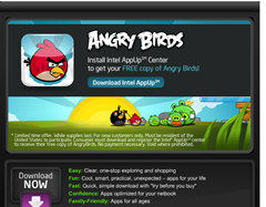 Free Angry Birds game for PC