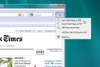 PDF Download add-on for Firefox