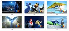 Rio Movie Windows 7 themepack
