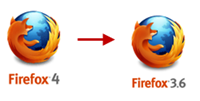downgrading from Firefox 4 to 3.6