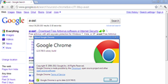 Chrome Canary WebRep Plugin
