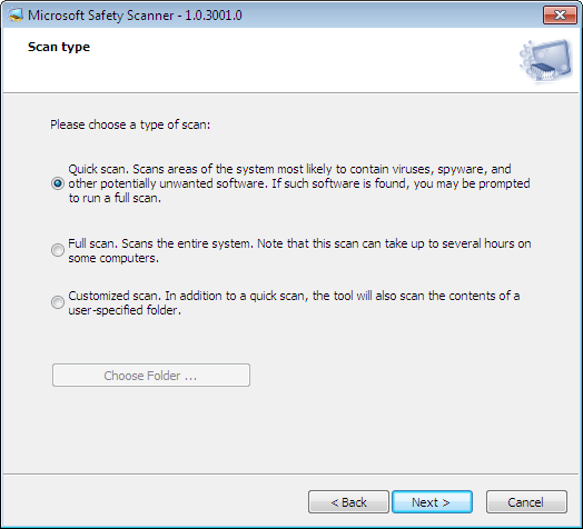 Microsoft Safety Scanner x64 1.0.3001.0 full