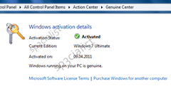 Windows 8 Genuine Center screenshot