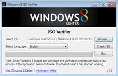 Windows 8 ISO Verifier