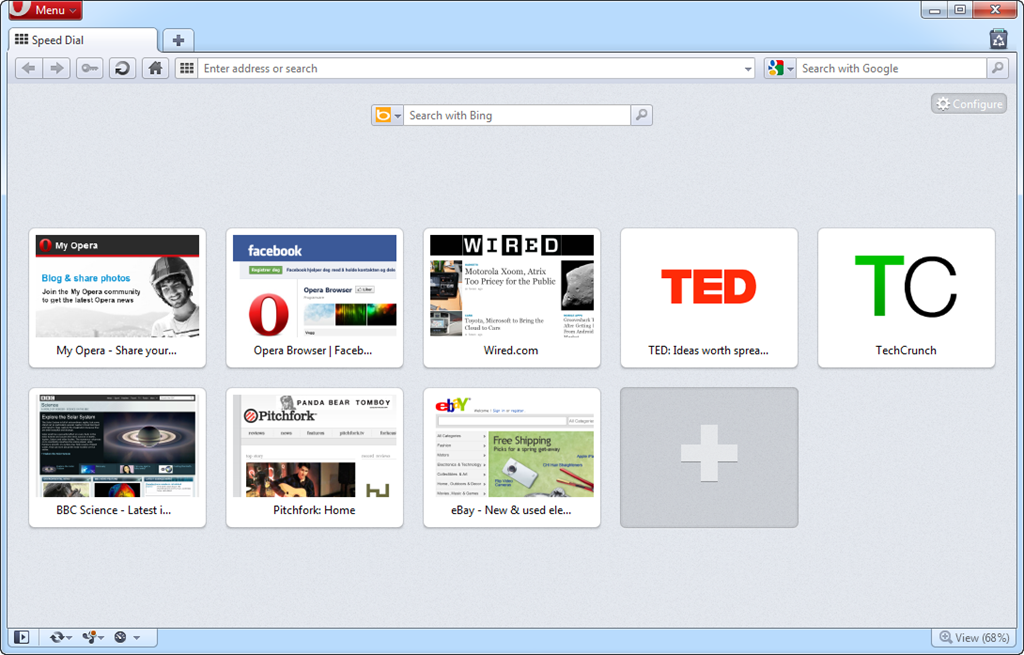 Opera custom Speed Dial -Includes tutorial- by Inspirement on ...
