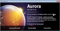 change from Aurora channel