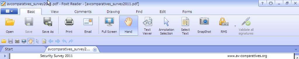 open pdf in new window foxit reader