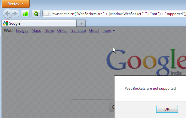 How to Check Whether a Browser Supports WebSockets or Not?