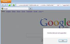 Firefox 4 not supports websockets