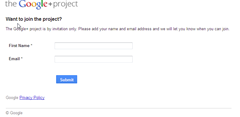 Join Google project thumb How to Get Google+ Invitations