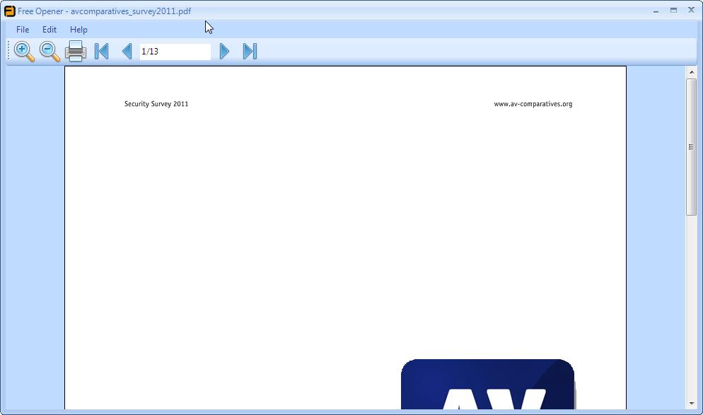 Pdf File Opener