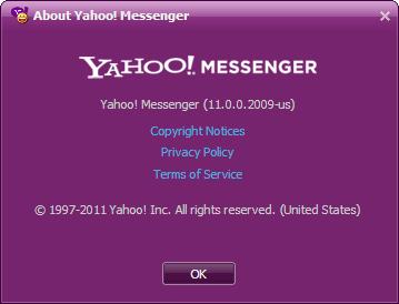 yahoo messenger offline