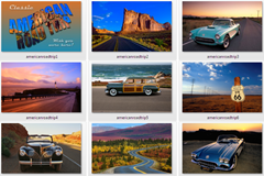 classic american road trip wallpapers