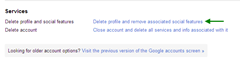Delete Google Plus Profile thumb How to Disable or Delete your Google+ Profile