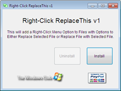 RightClick Replace This
