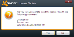 avast license key