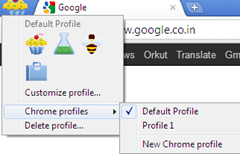 mutiple profiles