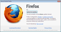 Firefox 6 final thumb Firefox 6 Final Released Ahead of Schedule